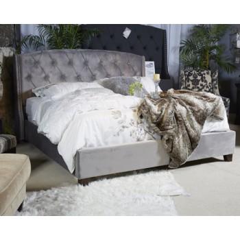 Kasidon - Multi - Queen Upholstered Footboard