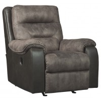 Hacklesbury - Brownstone - Power Rocker Recliner