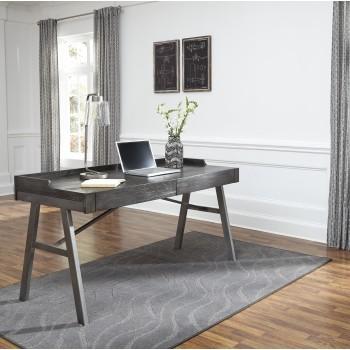 Raventown - Grayish Brown - Home Office Desk