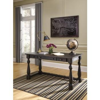 Mallacar - Black - Home Office Desk