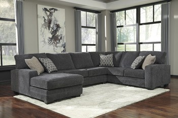 Tracling Armless Loveseat