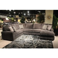 Tracling - Slate - Armless Loveseat