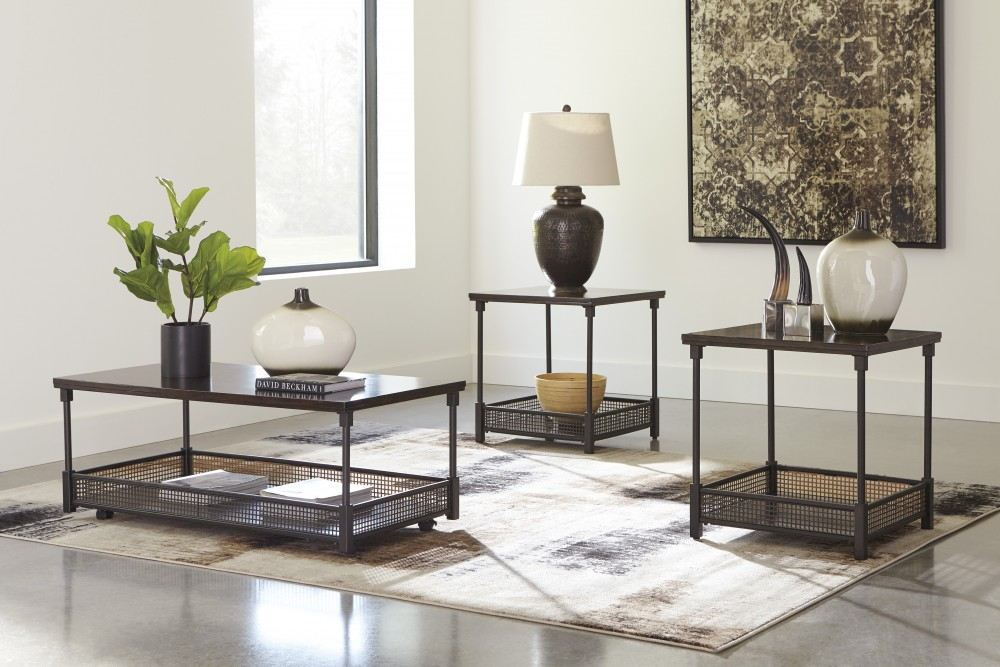 Kalmiski - Dark Brown - Occasional Table Set (3/CN) : occasional table sets - pezcame.com