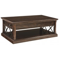 Roddinton - Dark Brown - Lift Top Cocktail Table