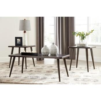 Fazani - Dark Brown - Occasional Table Set (3/CN)