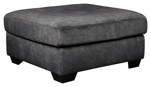 Accrington - Granite - Oversized Accent Ottoman