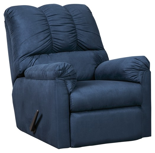 Darcy - Blue - Rocker Recliner