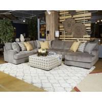 Fallsworth - Smoke - Armless Chair