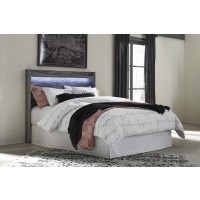 Baystorm - Gray - Queen Panel Headboard