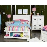 Blinton - White - Queen Storage Footboard