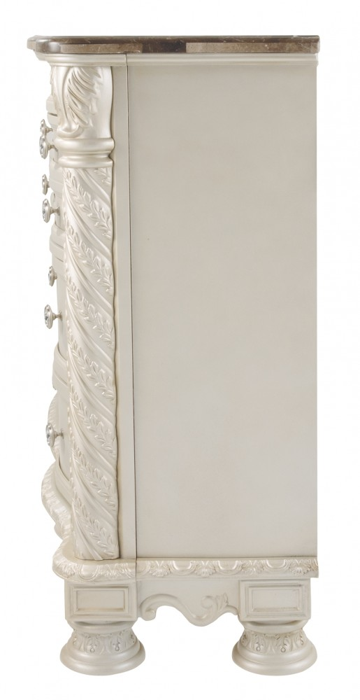 Cassimore pearl silver dresser dressers pruitt 39 s for Pruitts bedroom sets