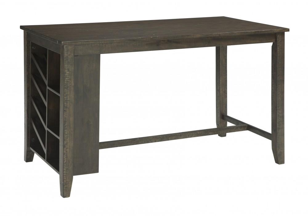 Rokane - Brown - RECT Counter Table w/Storage  sc 1 th 188 & Rokane - Brown - RECT Counter Table w/Storage | D397-32 | Tables ...