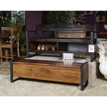 Glosco - Brown - Storage Bench