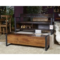 Glosco - Brown - Storage Bench