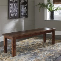 Manishore - Brown - Dining Room Bench
