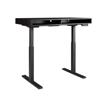Laney - Black - Adjustable Height Desk