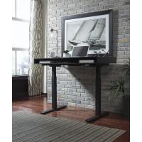 Laney - Black - Adjustable Height Desk