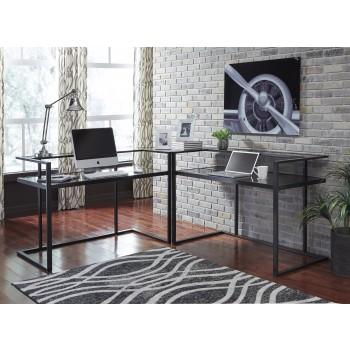 Laney - Black - Home Office Corner Desk