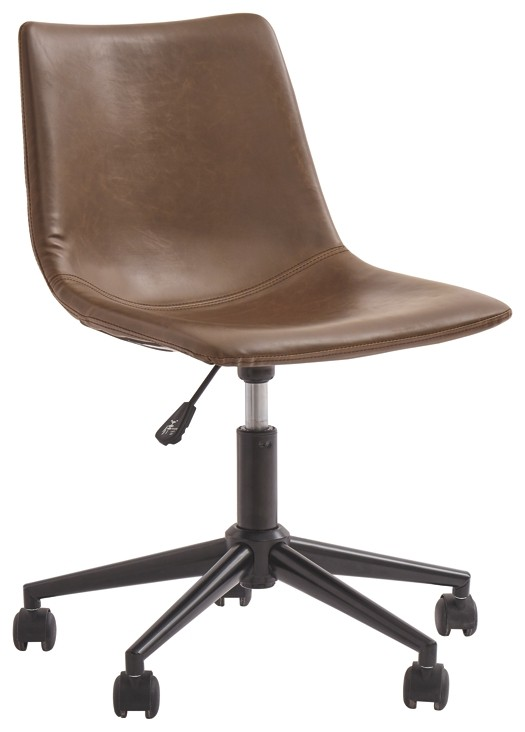 Office Chair Program - Brown - Home Office Swivel Desk Chair