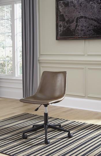 Phenomenal Office Chair Program Brown Home Office Swivel Desk Chair Download Free Architecture Designs Scobabritishbridgeorg