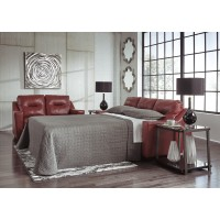 Kensbridge - Crimson - Queen Sofa Sleeper