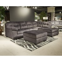 Accrington - Granite - LAF Sofa