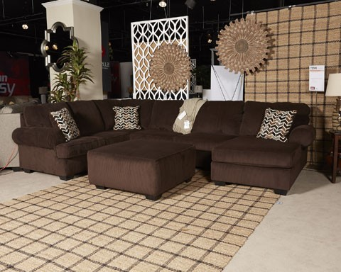 Jinllingsly   Chocolate   LAF Sofa
