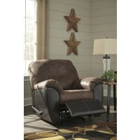 Gregale - Coffee - Rocker Recliner