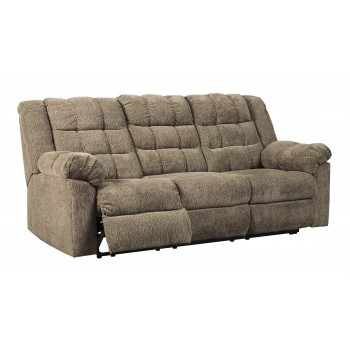Workhorse - Cocoa - Reclining Sofa
