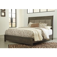 Camilone Cal King Upholstered Panel Bed
