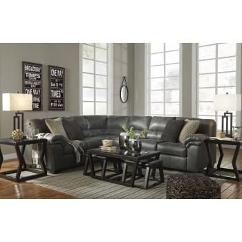 Bladen - Slate 3 Pc. LAF Sofa Sectional