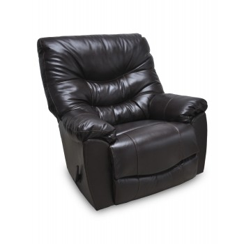 Trilogy Leather Chocolate Recliner