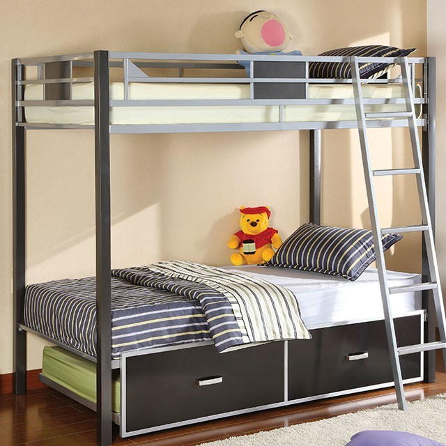 CLETIS - Twin/Twin Bunk Bed