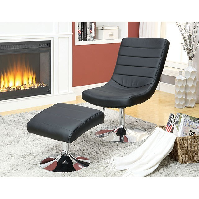 Valerie - Lounge Chair w/ Ottoman