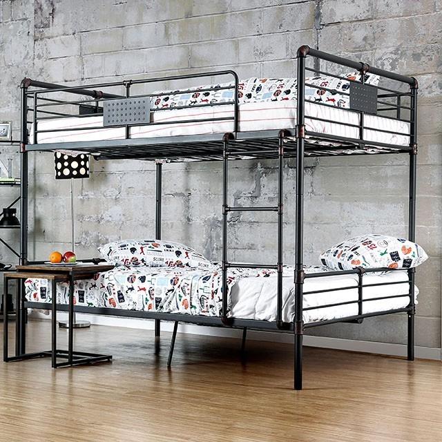 Olga I Full Full Bunk Bed Cm Bk913ff Bed Daybed Furniture