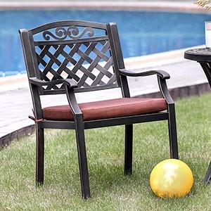 Jessa - Patio Arm Chair (2/Box)