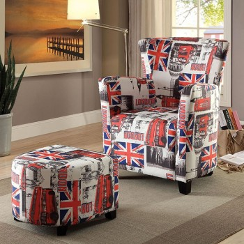 Leicester - Chair w/ Ottoman