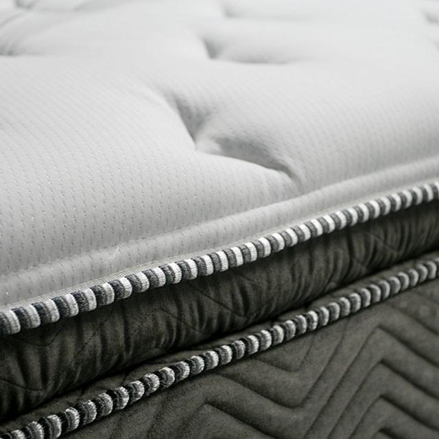 Stormin - 13 Euro Pillow Top Gel Infused Memory Foam