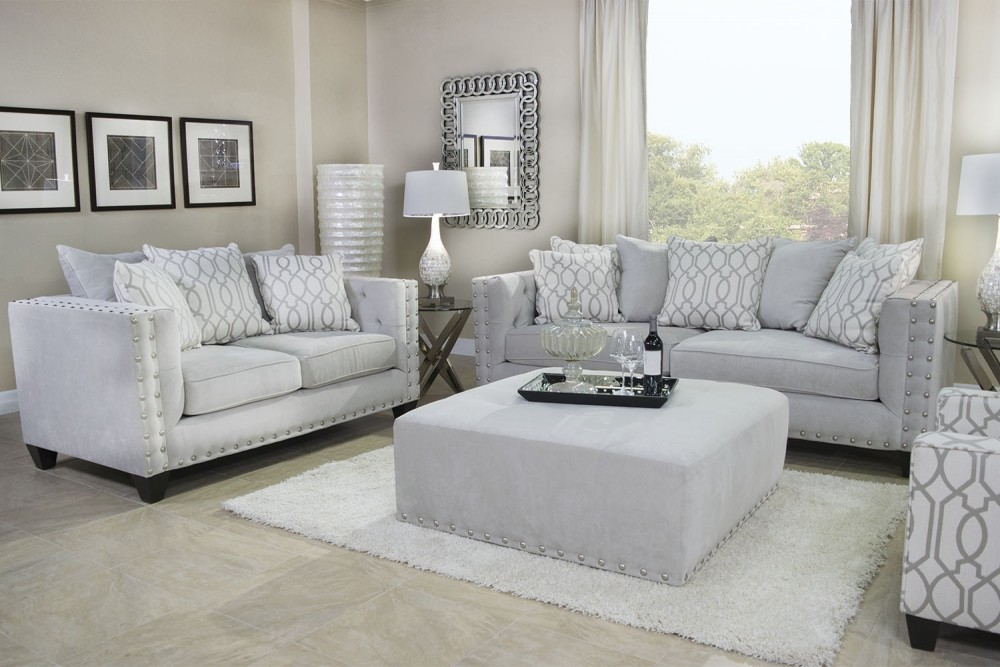 Delicieux Ariel Cream Living Room