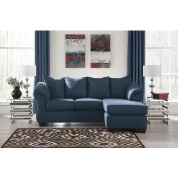 Darcy   Blue   Sofa Chaise | 7500718 | Sofas | Traveru0027s Furniture And Carpet