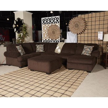 Jinllingsly sectional with chaise