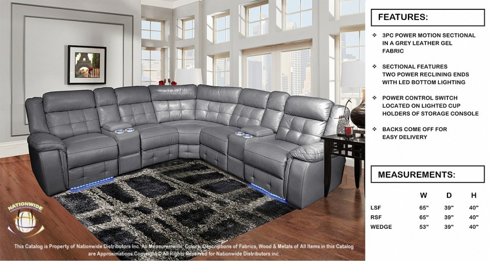 Merveilleux Nationwide U49 Sectional