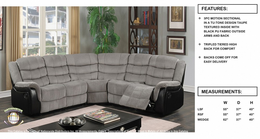 Nationwide U60 Sectional