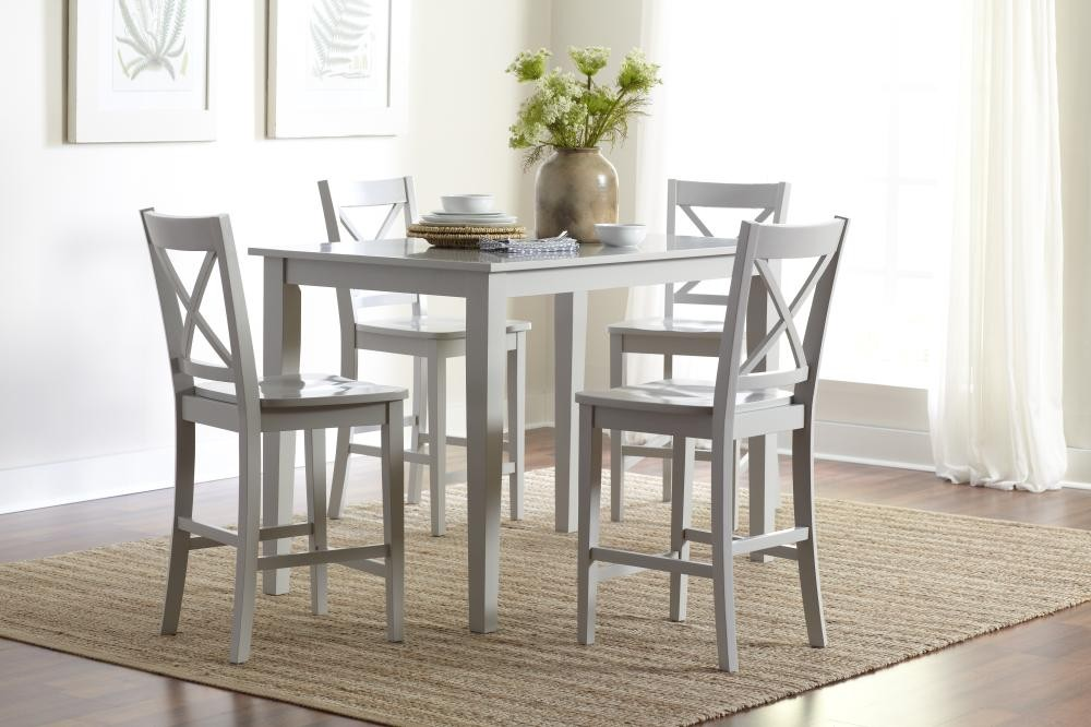 Review Simplicity Counter Height Dining Table Dove Idea - Simple Elegant counter height dining table Top Search