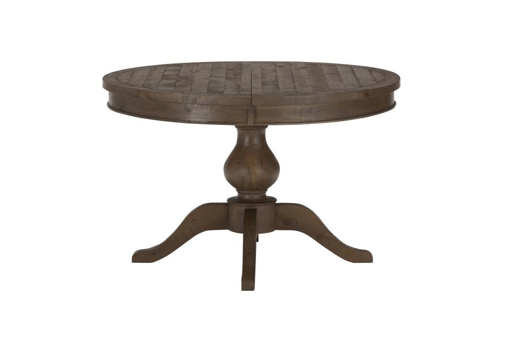 Slater Mill Round To Oval Dining Table Top ly Slater Mill Round To Oval - dining table pedestal base only