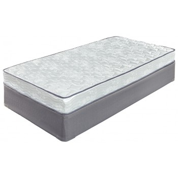 6 Inch Bonell - White - Twin Mattress