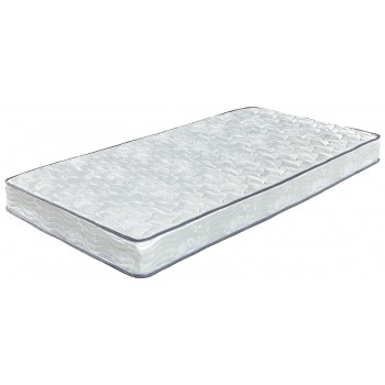 6 Inch Bonell   White   Queen Mattress