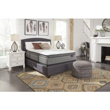Mt Rogers Ltd Pillowtop - White - King Mattress