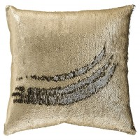 Maxandria - Gold/Silver Finish - Pillow