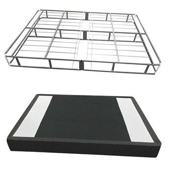 7 Inch Easy Open Boxspring - White - Twin Foundation